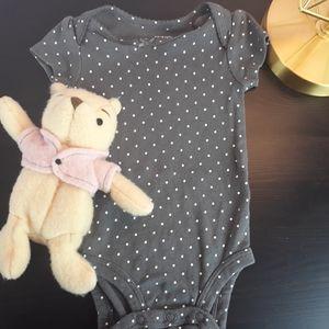 Carter's Baby Girl Pokedot Onesie